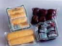 Ambalare cartofi, sfecla rosie si porumb in termoformare cu film flexibil, in vid, ce poate fi supus unui proces de igienizare