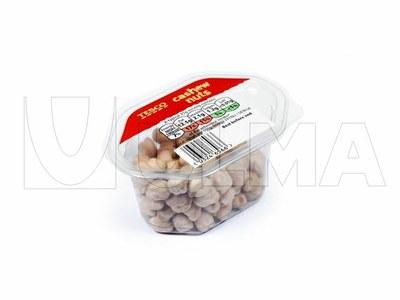 Ambalare fructe uscate in traysealing cu caserole rigide si atmosfera modificata (ATM)