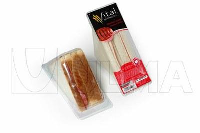 Ambalaj Sandwich in termoformare in film rigid cu atmosfera modificata (MAP)