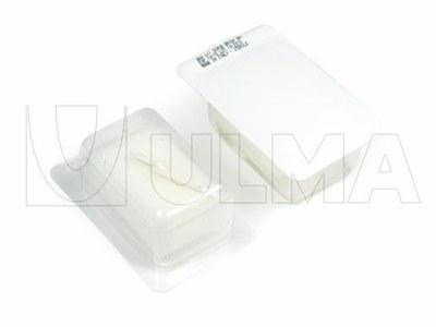 Ambalare kit medical (spuma cu perie + spatula + povidona) in termoformare cu film rigid