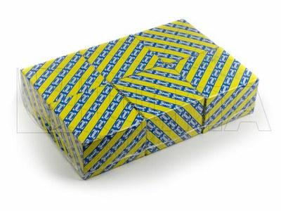 Ambalare cutii de carton cu rulmenti in polietilena de densitate joasa